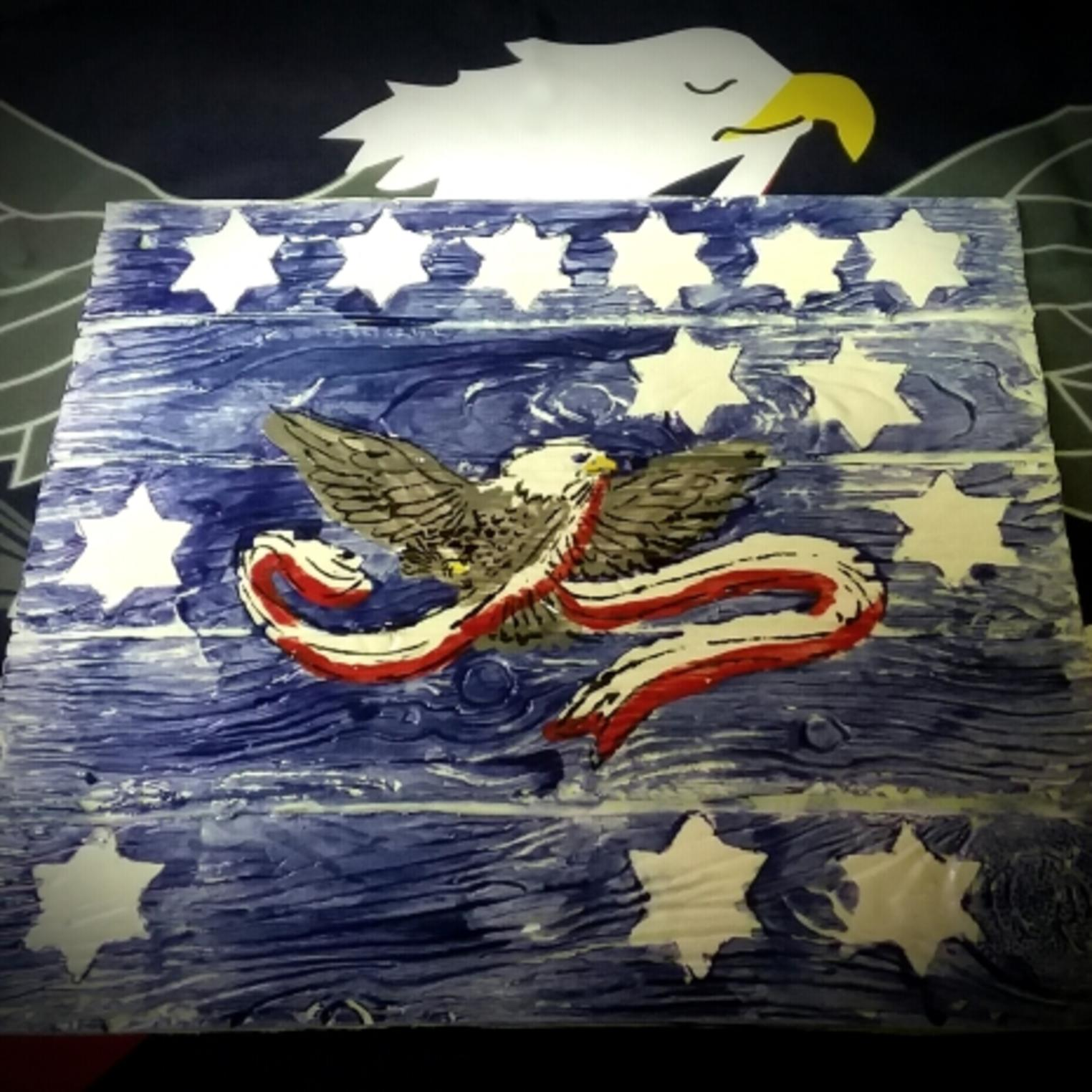 Whiskey Rebellion Ceramic Board Project
