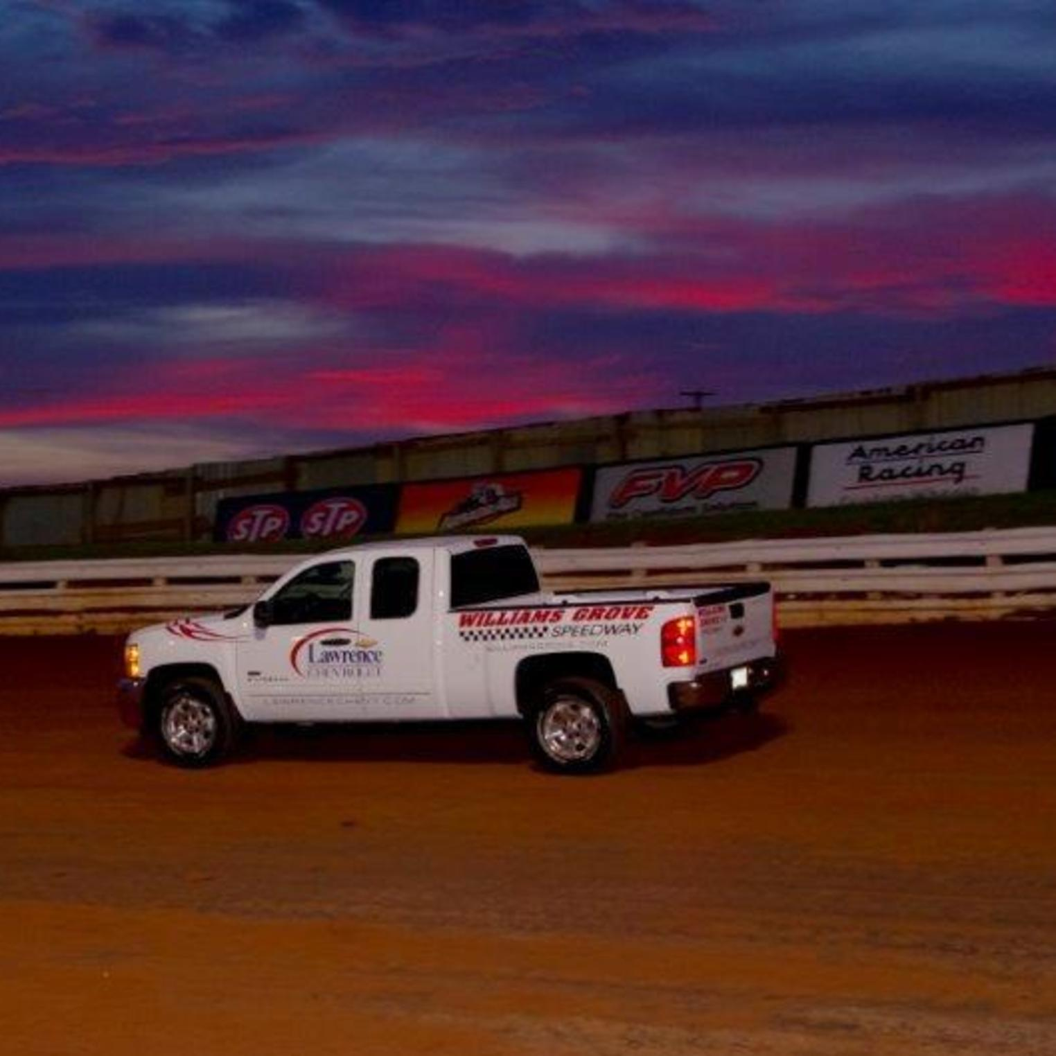 Pace Truck at Sunset
