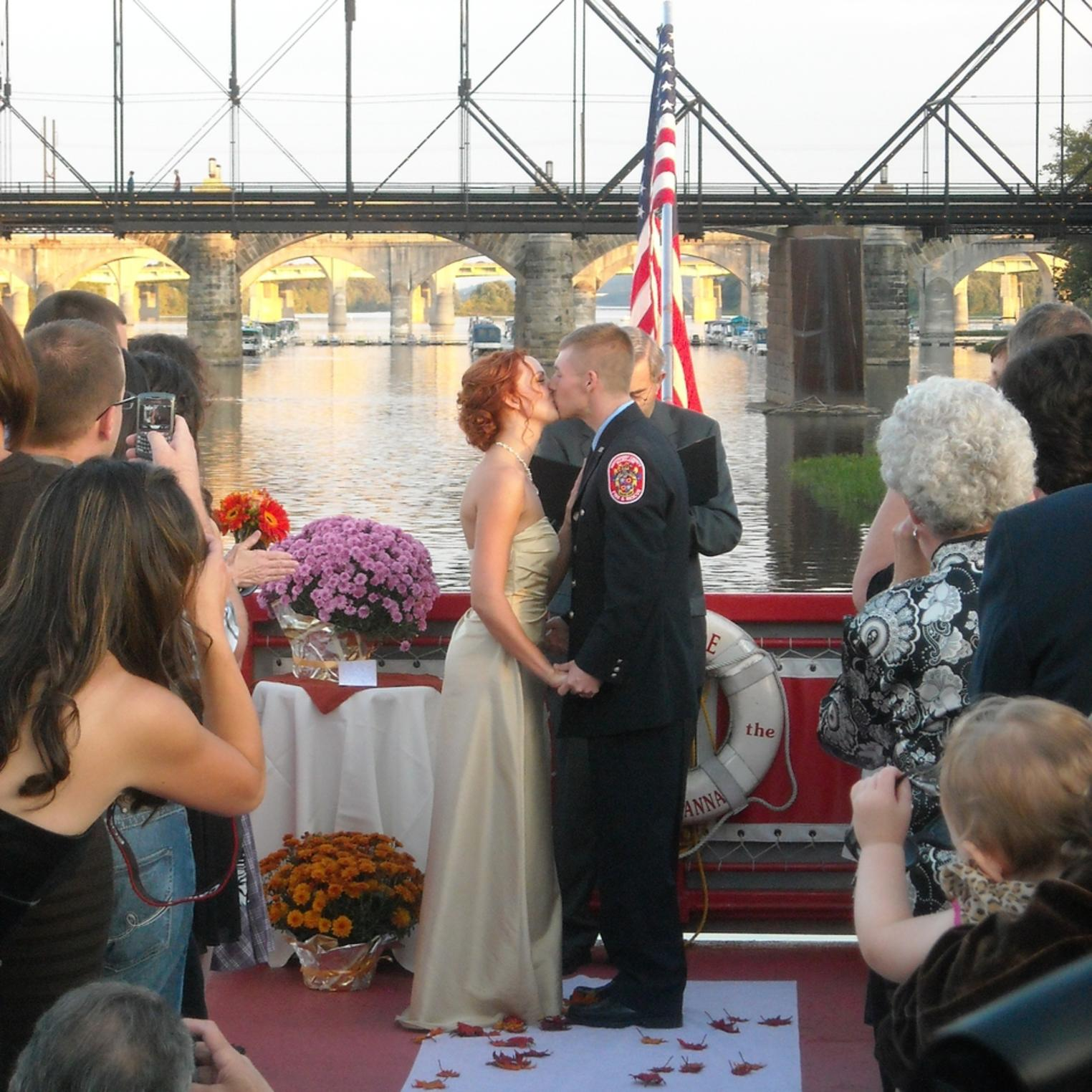 Wedding on the Pride 1