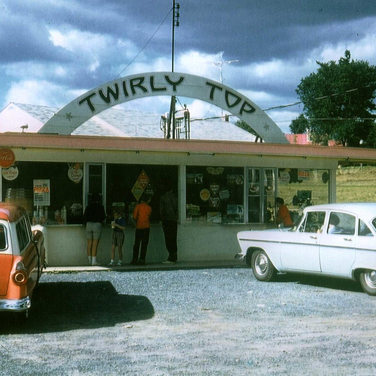 Twirly Top Circa 1950s