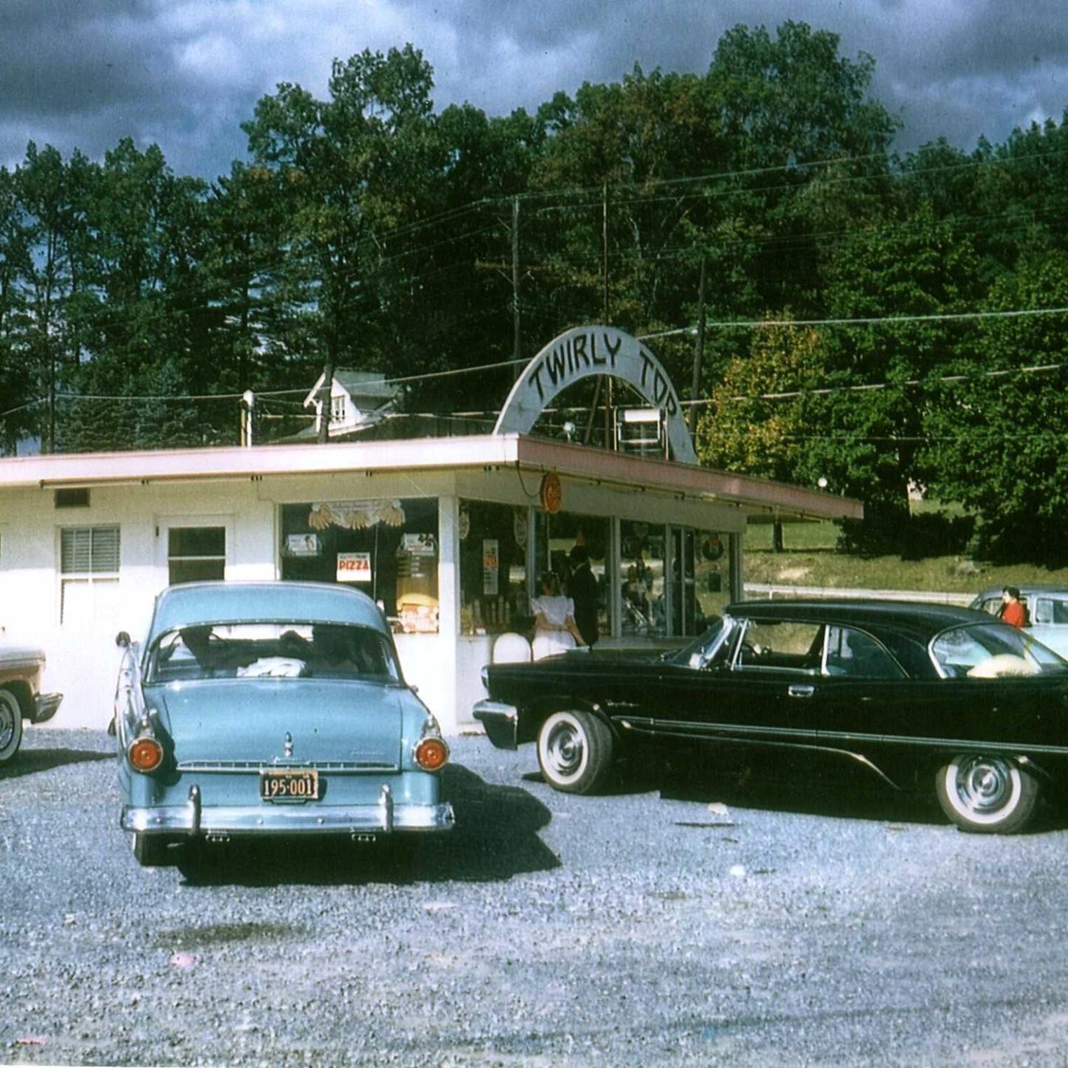 Twirly Top Circa 1950s