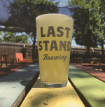 Pint of beer at Last Stand Brewing in Austin Texas