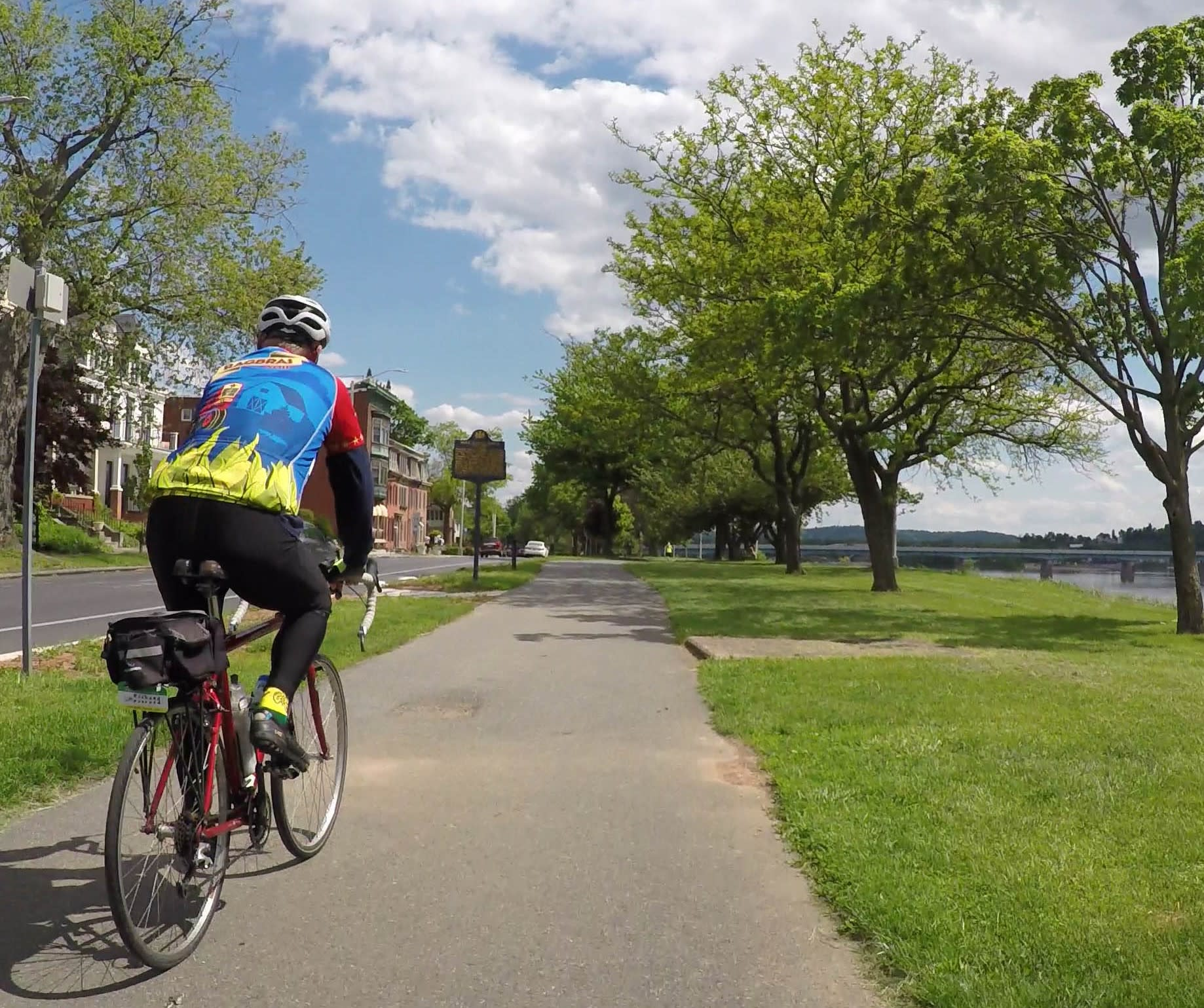 Bike trails in Harrisburg