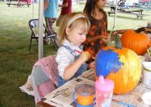 Children enjoy a variety of activities, games and special guests at the annual Festival of the Colors in Wilmington.