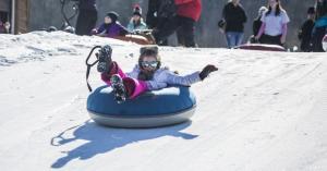 Titus Mountain Snowtubing