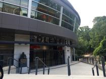Entrance to Foley Field at UGA in Athens, GA