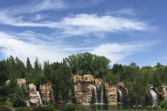 Thanksgiving Point Utah Waterfalls