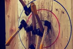 True North Axe Throwing Target
