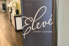 Interior Welcome Sign