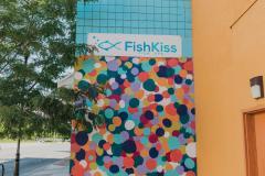Fish Kiss Mural