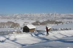 Pioneer Cabin and Cross Country Skiing