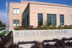 health & justice building