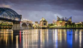 Chattanooga Riverfront at Night