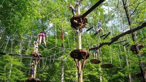 High Point ZIP Adventure at Ruby Falls