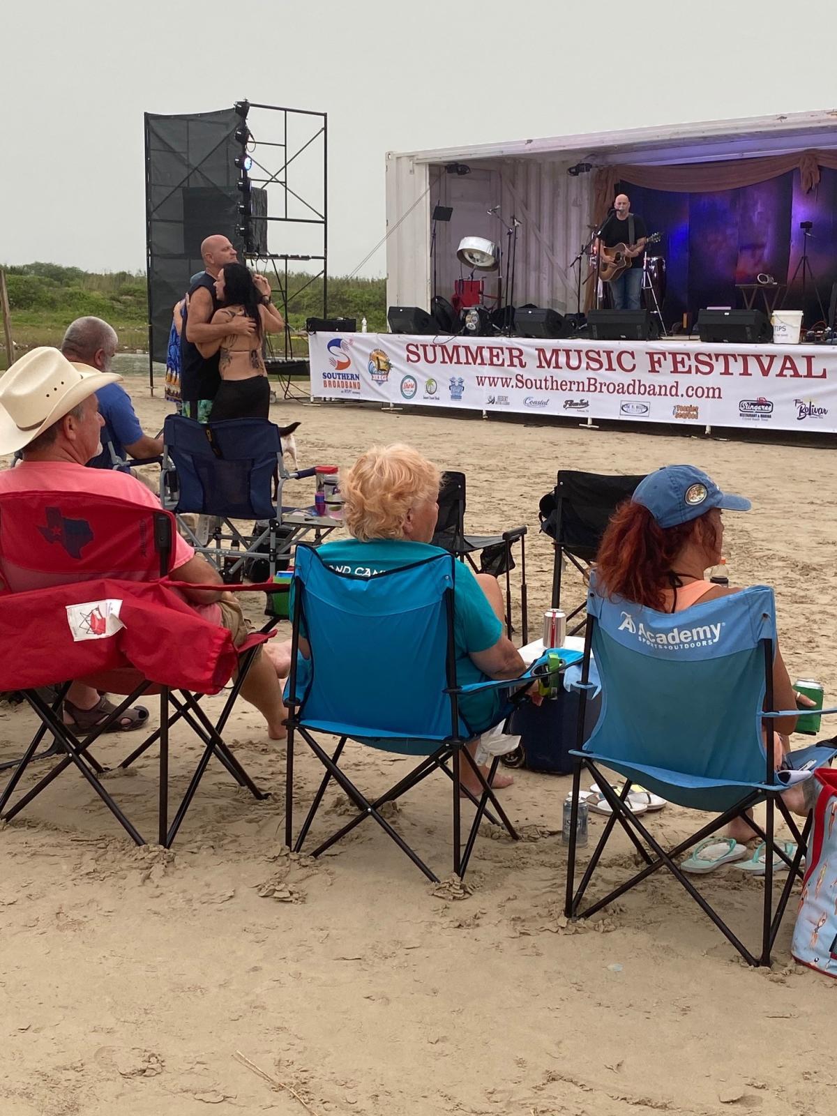 Bolivar beach live music