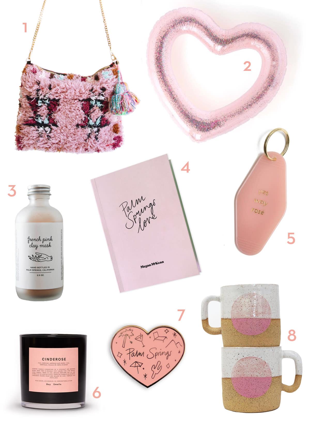 pink valentine's day gifts