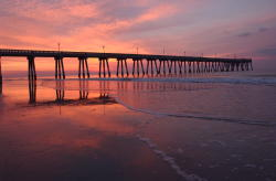 Johnnie Mercer's Pier-Sunset