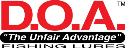 d.o.a fishing lures logo