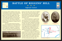 Battle of Riggins Hill
