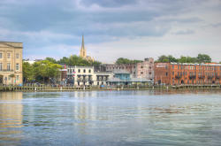 Wilmington Riverfront at the foot of Market Street