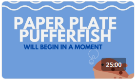 Ripley's Aquarium Crafts: Paper Plate Pufferfish