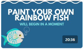 Ripley's Aquarium Crafts: Paint Your Own Rainbow Fish