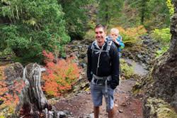 Hiking Proxy Falls by Kayla Krempley