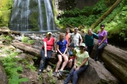 Spirit Falls Group Photo by Sally McAleer