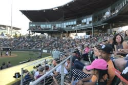 Eugene Emeralds Baseball Game by Taj Morgan
