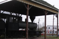 Historic Train Engine in Junction City by Cari Garrigus