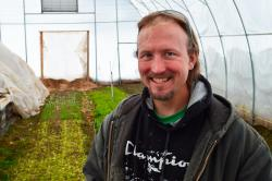 Nic Welty Explains Organic No-Tilling Farming Practices at 9 Bean Rows
