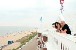 Rooftop of the Boardwalk Plaza Hotel