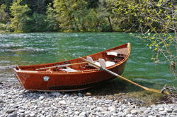 McKenzie River Drift Boat by Rick Obst