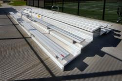 Tennis bleachers example