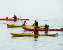 Kayaking on the Hudson River
