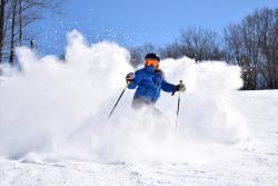 Skiing at Hidden Valley Resort