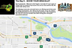 Show Your Badge Map for The Big O
