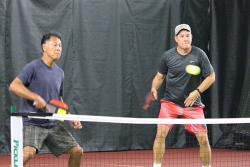 Doubles Play at the 2016 Western Oregon Pickleball Classic in Eugene, Oregon