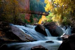 Fall at Eldorado Springs State Park