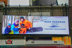 2018/19 PMVB Winter Co/Op - Billboard - Pocono Mountains Visitors Bureau