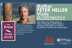 Author Visit with Peter Heller