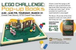 LEGO Challenge: Pop-Up Books