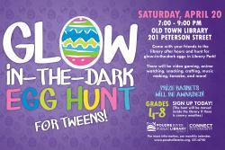 Glow-in-the-Dark Egg Hunt for Tweens