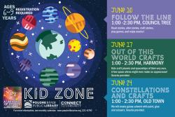 Kid Zone: Constellations & Crafts