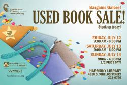Poudre River Friends of the Library Summer Book Sale