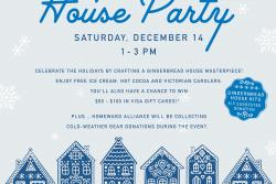 FirstBank's Annual Gingerbread House Party at Old Town Churn Ice Cream