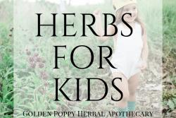 Calming & Nourishing Herbs for Kids