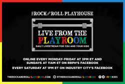 The Rock and Roll Playhouse Presents Live From The Playroom