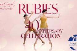 Canyon Concert Ballet Presents:  Rubies, A 40th Anniversary Celebration
