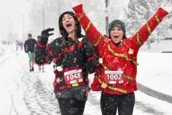 Sweaty Sweater Race